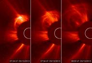 Solar Storm Eruption